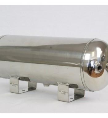 Polished Aluminium Air Tanks