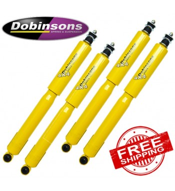 Dobinsons Twin Tube Gas Shock Absorbers to suit 4WD Mazda BT50 Series 1 2007-10/2011